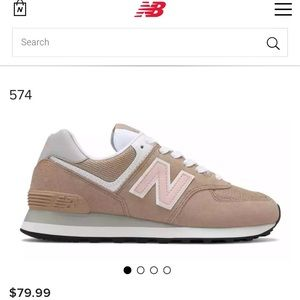Never used women New Balance 574 size 12